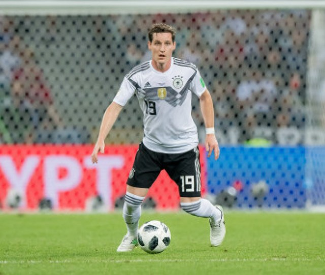 Sebastian Rudy In Possession For Germany During Their Game Against Sweden At The 2018 World Cup