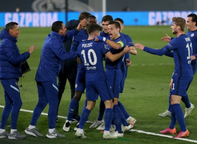 Pulisic scores vital away goal as Chelsea hold Real Madrid ...
