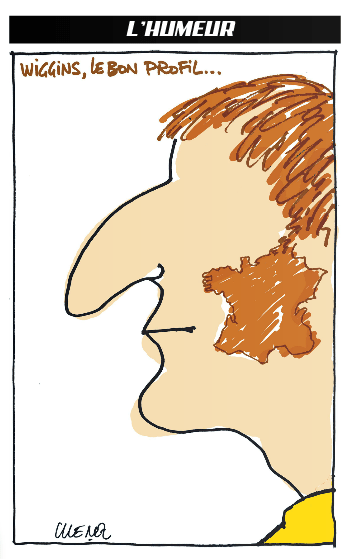 Wiggins' sideburns