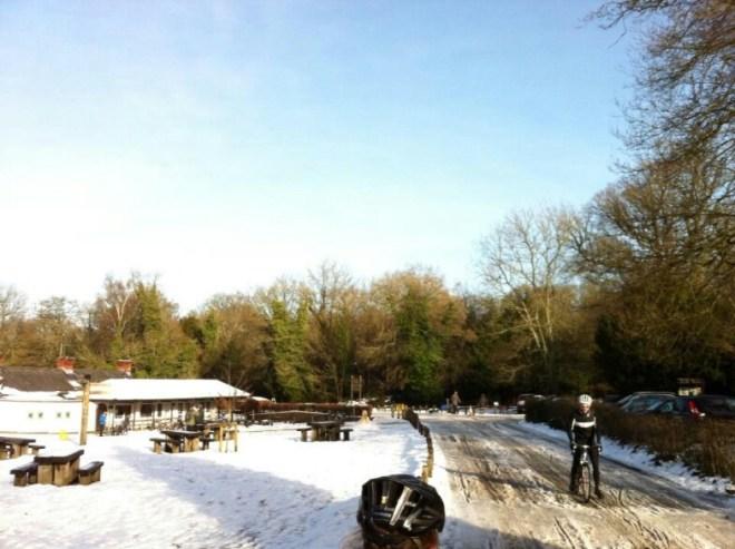 Box Hill, A Week After It Snowed