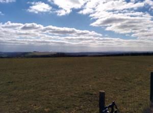 Butser Hill - Solent View - Evans
