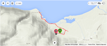 Exmoor Coast Run - West Porlock to Porlock Weir
