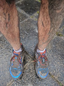 Sign of a happy run - after Saturday's 20K