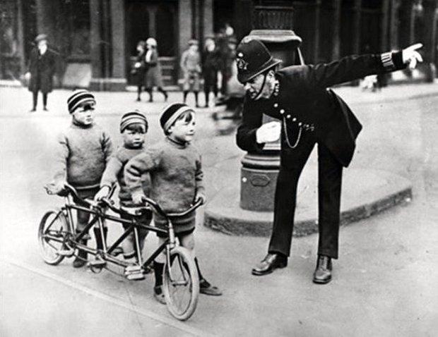 Everyone rides - Triplette Enfants Londres