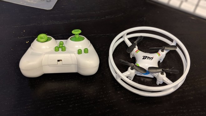 New toy — a tiny drone