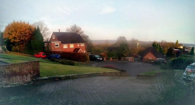 Dawn in the neighbourhood