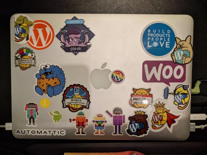 Her laptop
