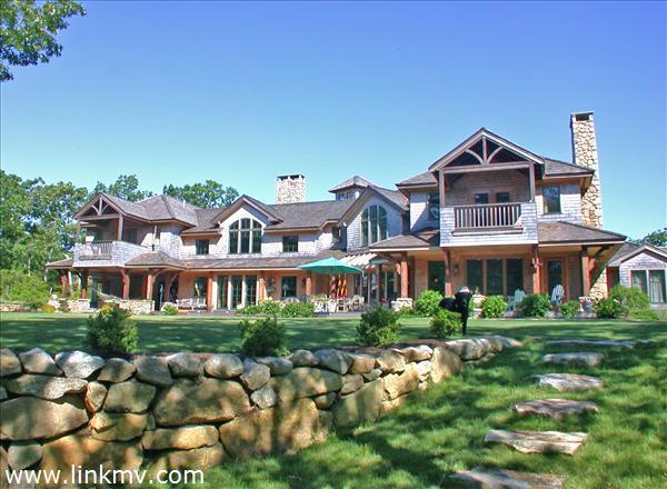 Private Waterfront Estate Boldwater Edgartown Great Pond