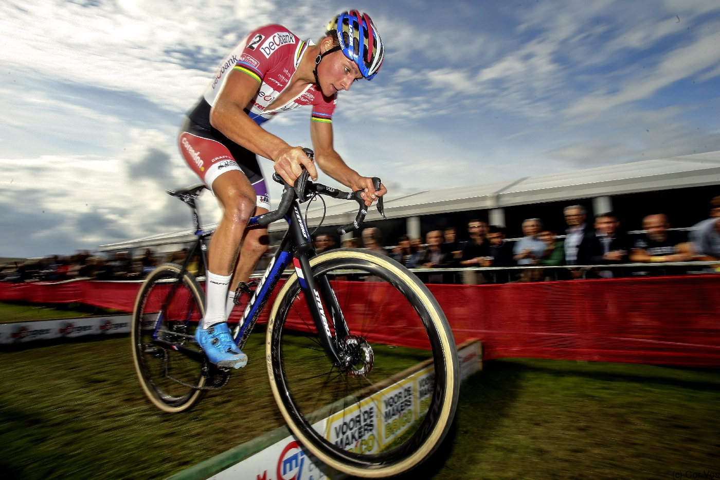 first wins for mathieu van der poel and sanne cant stevens bikes