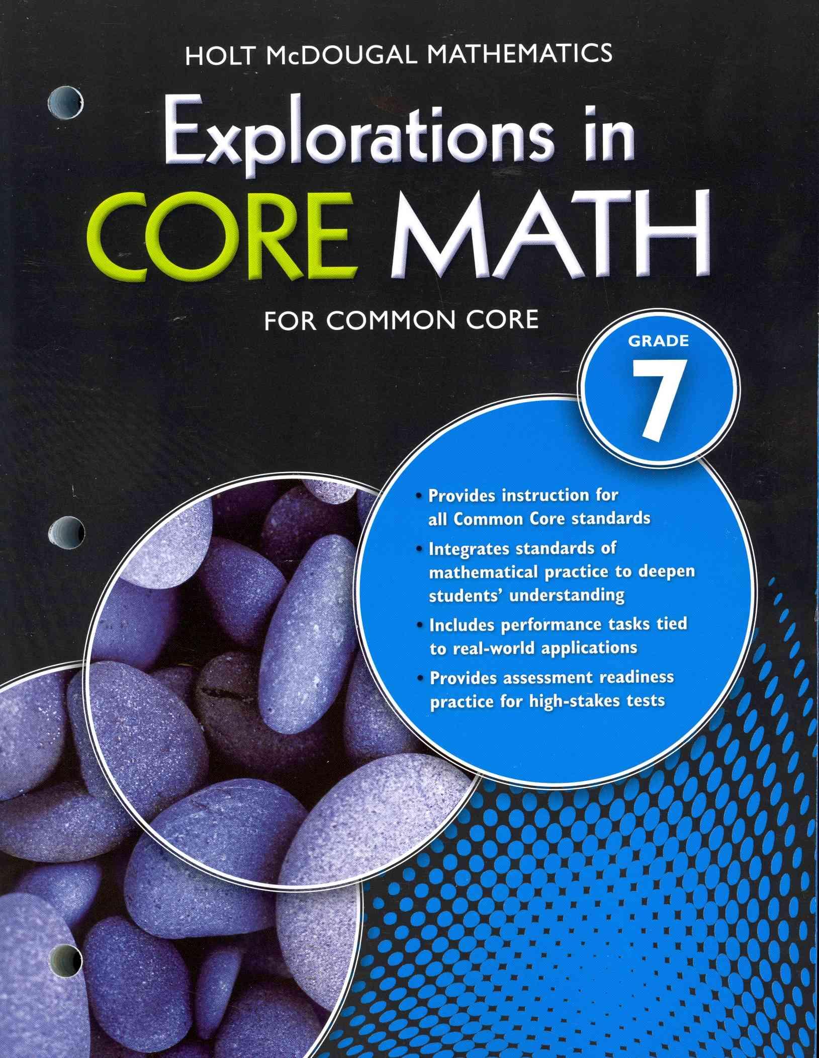 Mathematics Explorations In Core Math For Common Core