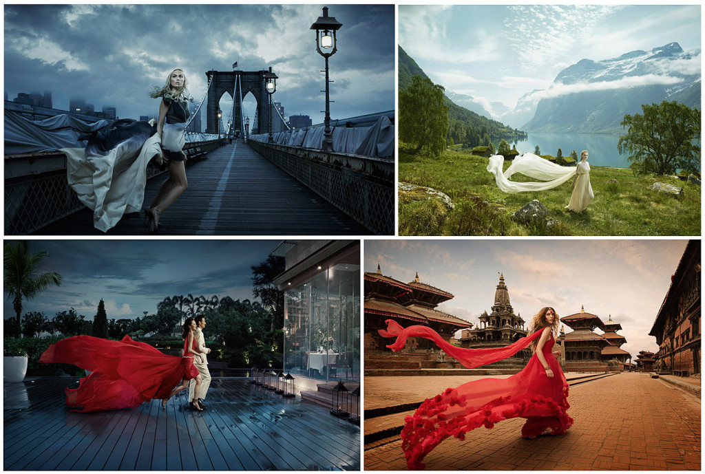 Erik Almas Advertising photographer Flowing Fabric flowing dresses small_2