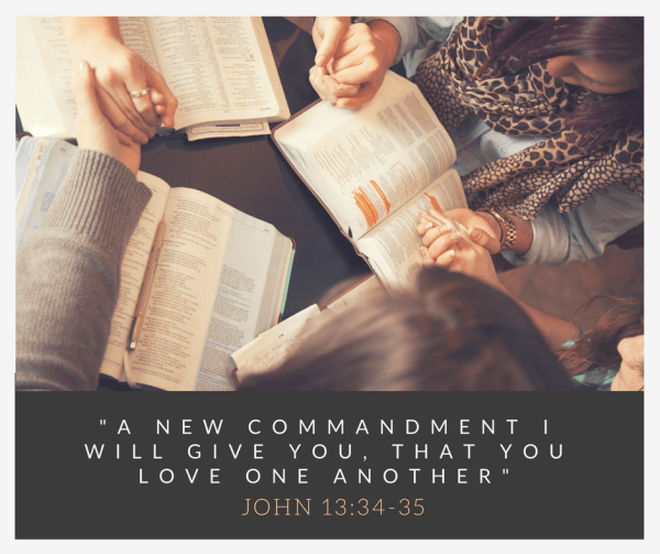 A new commandment I give you, that you love one another