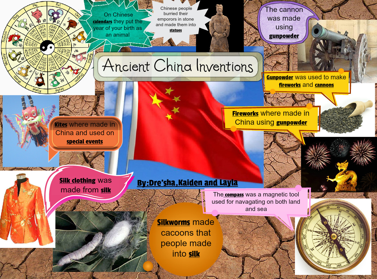 Ancient China Inventions Text Images Music Video