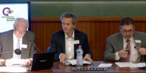 2ème Journée du C3RP : Jean-Luc Chassaniol, Pr Raphaël Gaillard et Lazare Reyes