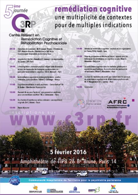 Affiche de la 5ème Journée du C3RP