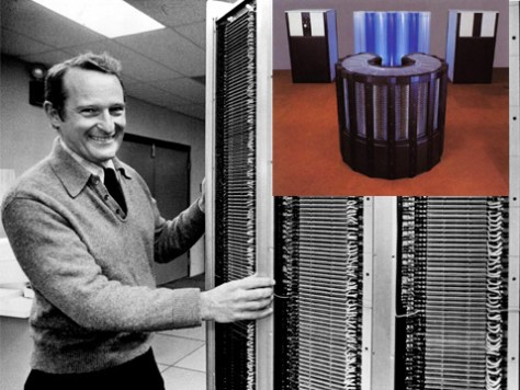 Seymour Cray et son super-ordinateur