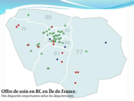 Offre de soin en Remédiation cognitive en Île de France
