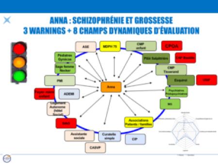 ANNA : schizophrénie et grossesse 3 warnings + 8 champs dynamiques d'évaluation