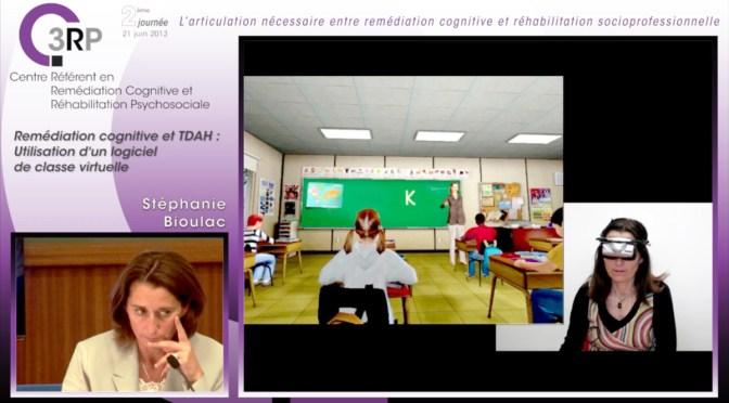 TDAH – classe virtuelle, Stéphanie Bioulac, vidéo
