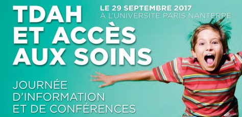 TDAH et accès aux soins - conférence 29 septembre 2017