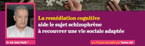 Sante Mag La remédiation Cognitive N°62 Laurent Lecardeur