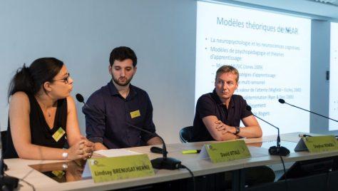 Lindsay Brenugat-Herné, David Attali et Stephan Renou