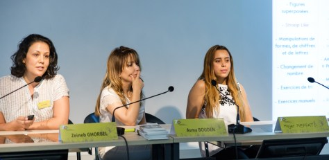 Zeineb Ghorbel, Asma Bouden et Hajer Neffati