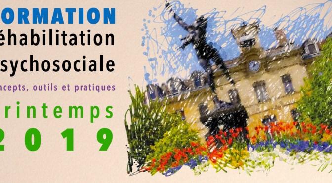 formation réhabilitation psycho-sociale -mars 2019
