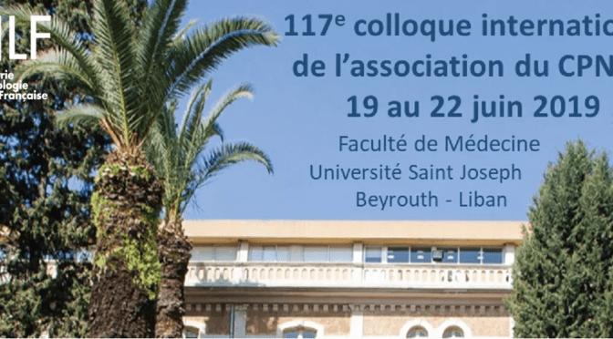 Congrès CPNLF 2019 -remediation cognitive