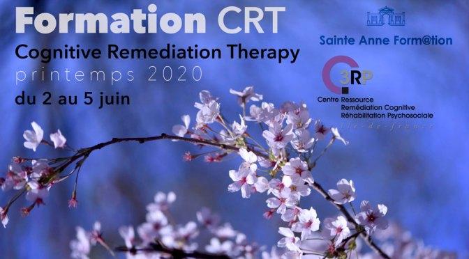 Formation CRT – Printemps 2020 – du 2 au 5 juin