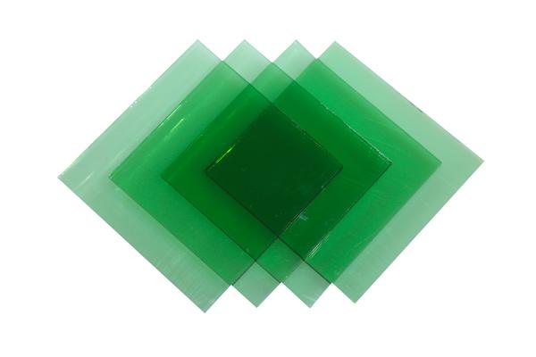 Verre Simple Vert 5 mm Image