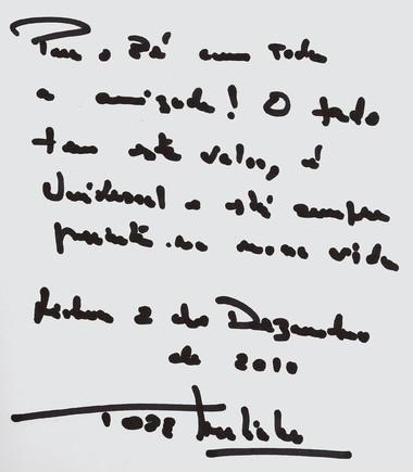 Autografo Tó-Zé Martinho