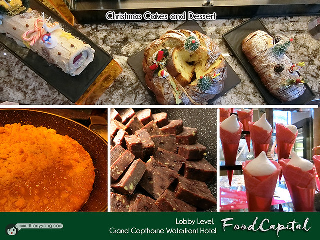 Grand Copthorne Waterfront Food Capital Christmas Dessert