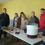 vin chaud par les confirmands à Bossendorf