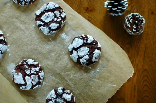 Brownie Crackle Cookies