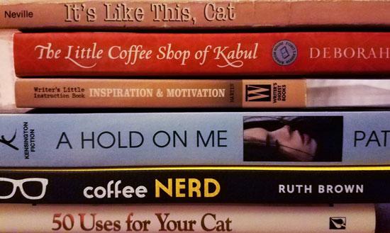 #BookSpinePoetryBoB @JLenniDorner #BoutofBooks