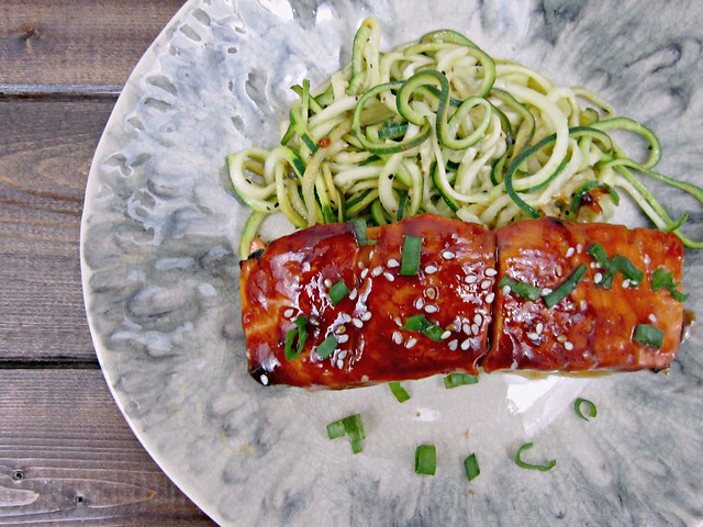 Salmon Asian BBQ