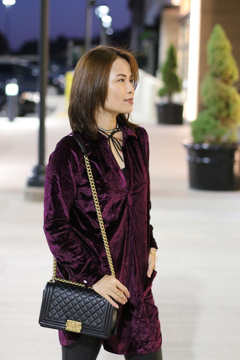 velvet-dress-chanel-boy-bag-6