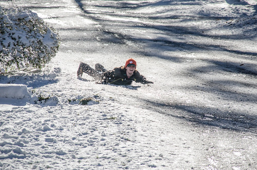 Neighborhood Sledding-003