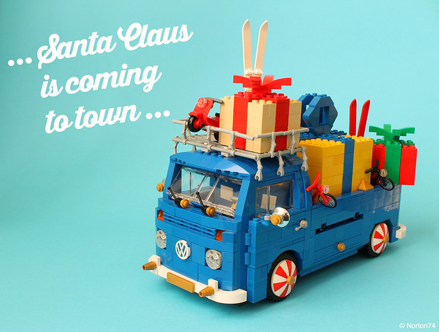 LEGO Père Noël Volkswagen