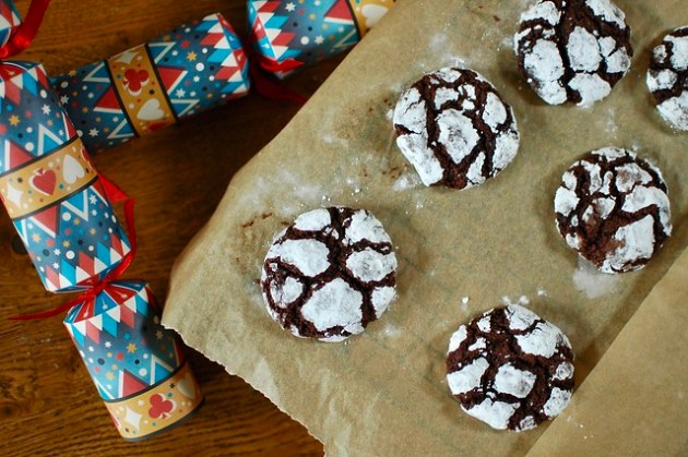 Brownie Crackle Cookies