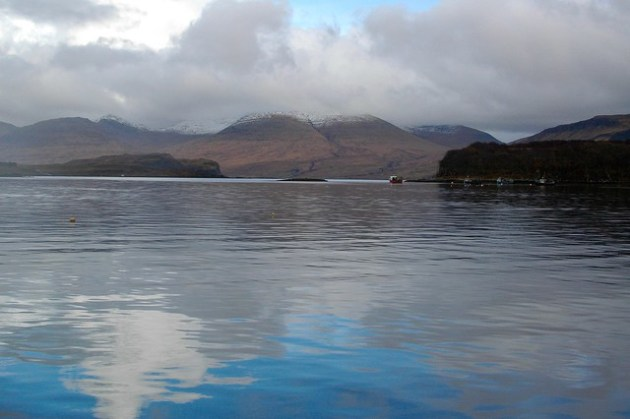 View from Ulva Boathouse