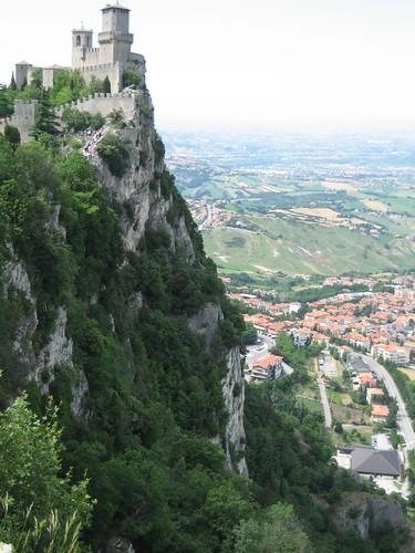Patrimonio de la Humanidad en Europa y América del Norte. San Marino. Monte Titano.