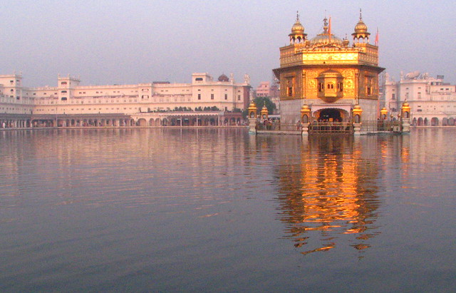 Morning light on the Golden Temple. IMG_7241