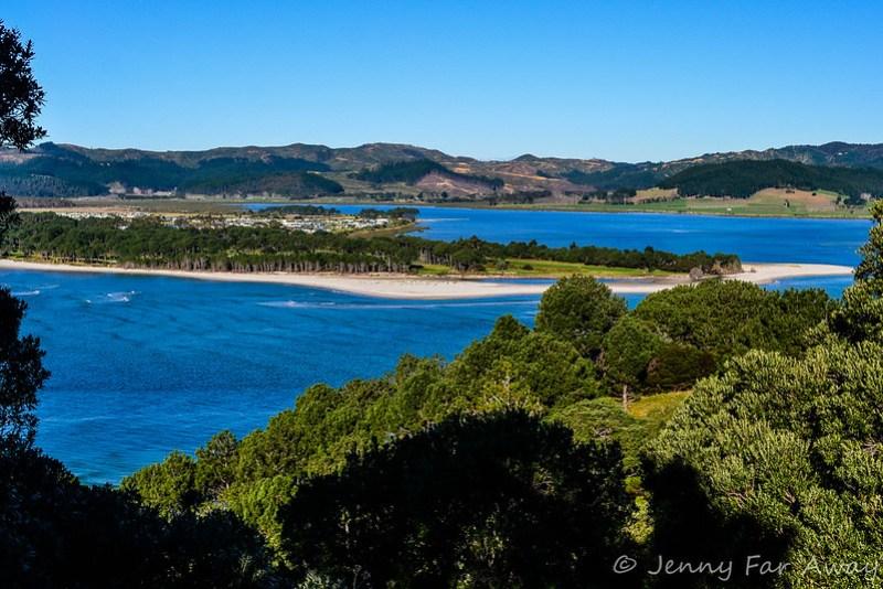 View from Opera Point, Coromandel, New Zealand.