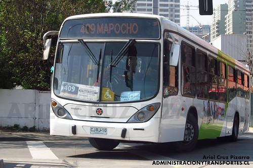 Transantiago - Express de Santiago Uno - Marcopolo Gran Viale / Volvo (CJRJ10)