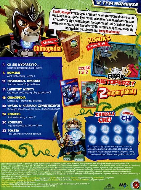 LEGO Legends of Chima Oficjalny Magazyn 2014-03 02