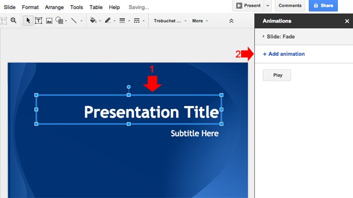 How to create powerpoint presentation step 10