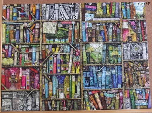 Magisches Bücherregal 1