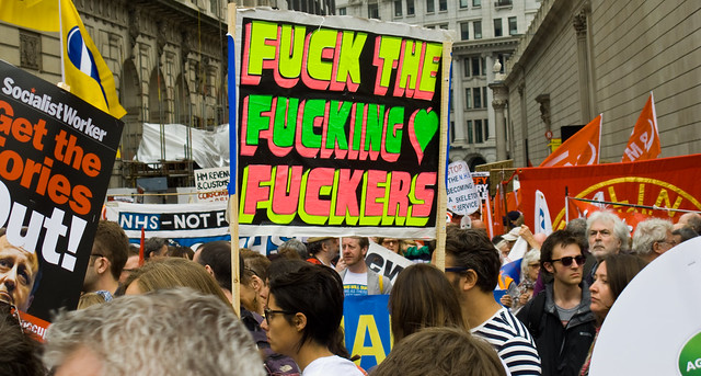 Anti Austerity march, London, June 20th 2015